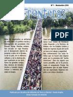 Boletin Sin Fronteras 01 - Tierra y Libertad (Frente Amplio por Justicia, Vida y Libertad)