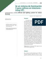 Informe Tecnico - Desarrollo de Un Sistema de Iluminacion LED