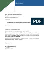 DOF Letter