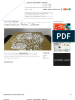 Inspiration_ Peter Callesen _ Abduzeedo _ Graphic Design Inspiration and Photoshop Tutorials