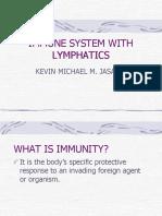 2. Lymphatics and Immunology-kevin Michael m. Jasani