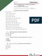 Taller de Matemática Guía 3