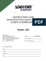 Compressor KD5508W