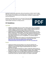 The Rules For Writing A Resume Or Curriculum Vitae Résumé 11 Views