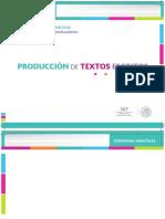 PRODUCCION DE TEXTOS ESCRITOS
