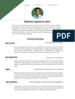 CV Gianpierre Camacho