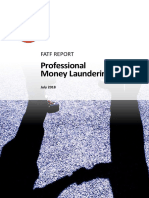 Professional Money Laundering