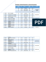 Oferta de disciplinas ISF 2019 UFRJ