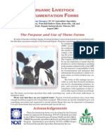 Livestock Forms