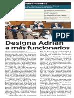 02-02-19 Designa Adrián a más funcionarios