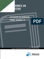 Estudios de derecho penal juvenil- Defensoria publica Chile