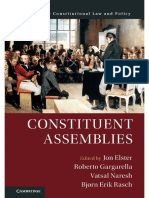 Jon Elster, Roberto Gargarella and Vatsal Naresh - Constituent Assemblies-Cambridge University Press (2018)