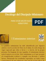 Decálogo Del Discípulo Misionero