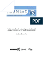Mexico heterodoxo. Diversidade religiosa nas letras do seculo XIX Resenha.pdf