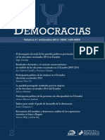 Revista Democracias - Volumen 2