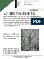 Resultati Storia Musica