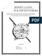 Forbidden Lands - Legends and Adventurers