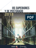 Guía de Estudios Superiores y de Postgrado 2018