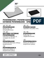 Manual instrucciones batería 309621 Os de en Fr Nl Pl Cs Sk