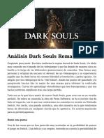 Análisis Dark Souls