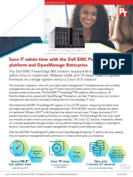 Save IT admin time with the Dell EMC PowerEdge MX  platform and OpenManage Enterprise