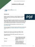 Guia Básica de Instalación de Microsoft Office 2010