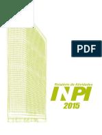 Relatorio de Atividades Inpi 2015