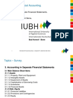 IFRS Separate Fincancial Statements Up Date