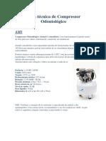Ficha Técnica de Compressor AM1
