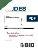 Caso de análisis. San Gaetano – Programa de talleres y  Mini -  Ensambladoras.pdf
