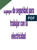 Separadores de Electricidad
