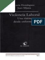 Violencia Laboral Una Vision Desde Enfermeria