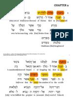 Daniel 9 - Interlinear LHI
