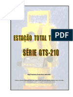 Manual Estação Total GTS-210