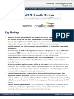 SD-WAN Growth Outlook - Breaking Down the Virtualized Wide-Area Networking (WAN) Market [2017]