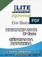 EliteResolveUnicamp2012-2fase-CienNat