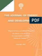 """The Effects of Oil Shocks on the Saudi Arabian Economy"" by Moayad Al Rasasi and Waheed A. Banafea"