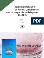 Tantangan Menjamin Ketersediaan Farmasi Yang Bermutu Terjangkau