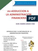 01.- Introduccion a La Adm Financiera 01
