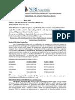 Details of Nri Online Practice Test 2