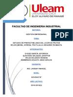 Analisis Foda y Pestel