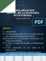 Dolarizacion