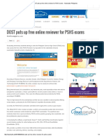 DOST Puts Up Free Online Reviewer for PSHS Exams - Newsbytes Philippines_324999
