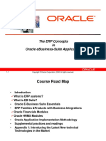 The ERP in Oracle EB Suite 11