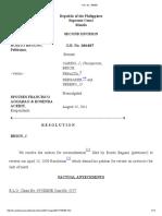 Bagunu v. Spouses Aggabao, G.R. No. 186487, August 15, 2011