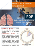 Respiratory Failure & Airway Management