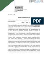 AUTO DE INICIO DE INSTRUCCIÓN