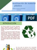 Proyecto de Reutilización de Material Plástico
