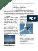 Energia Eolica en Mexico