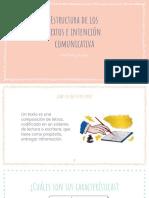 Tipos de Textos e Intención Comunicativa